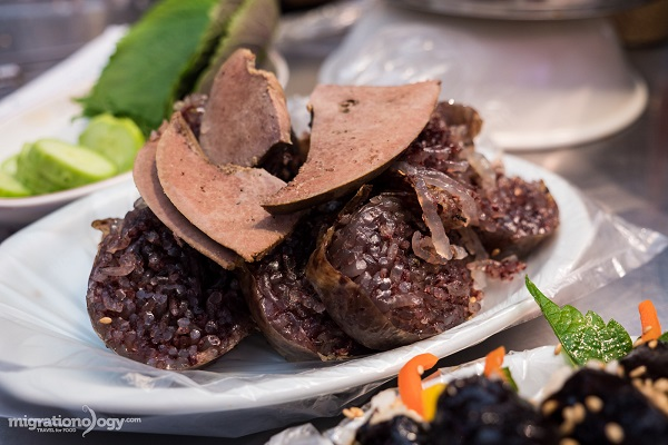 Korean Blood Sausage