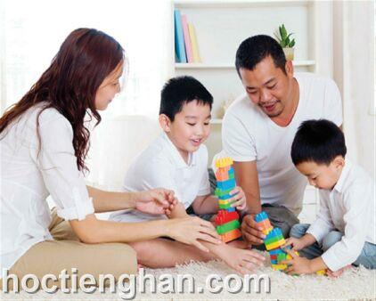 Phụ huynh là bạn đồng hành tạo động lực học tiếng Hàn cho trẻ em